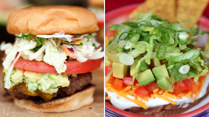 Super Bowl Food: Sliders and 7-Layer Dip
