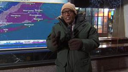 Al Roker does the weather