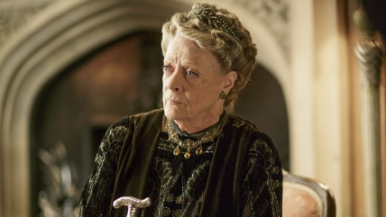 Image: Maggie Smith, as the Dowager Countess.