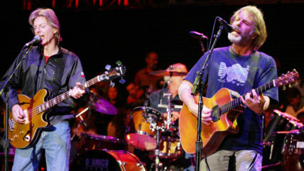 Image: Phil Lesh and Bob Weir will reunite with the other surviving members of The Grateful Dead, and Phish's Trey Anastasio, for farewell shows.