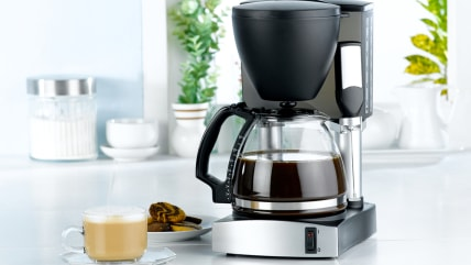 Coffee blender  and boiler machine great for makes hot drinks; Shutterstock ID 69862267; PO: MC for TODAY