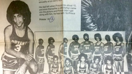 Prince basketball photo