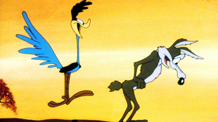 Image: Road Runner and Wile E. Coyote