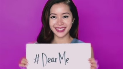 Beauty video blogger Michelle Phan is featured in the #DearMe campaign from YouTube.