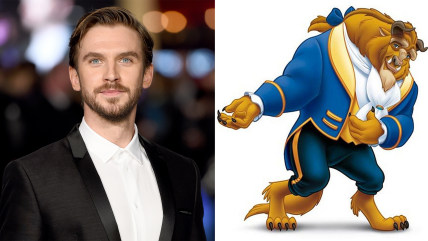 Dan Stevens and the Beast