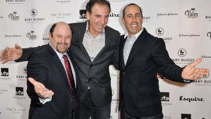 Jerry Seinfeld, Jason Alexander and Michael Richards