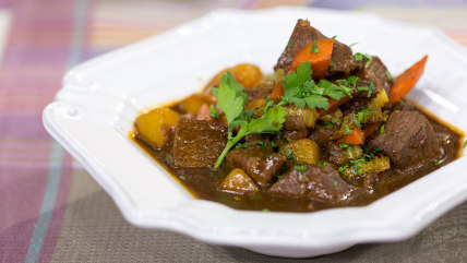 TODAY Show: Charlie Palmer cooks a delicious beef stew in Studio 1A -- March 11, 2015.