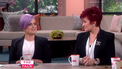 Kelly Osbourne on The Talk