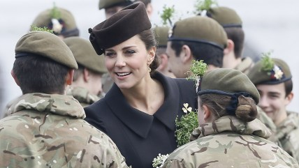 Duchess Kate on St. Patrick's Day