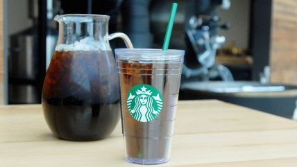 Cold brew coffee from Starbucks