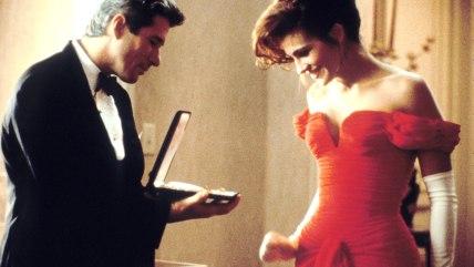 "Richard Gere, Julia Roberts in ""Pretty Woman"""