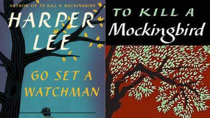 "Image: Harper Lee's ""Go Set a Watchman"" and ""To Kill a Mockingbird"""