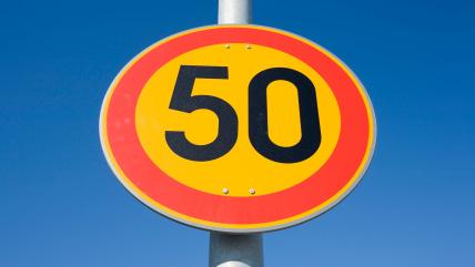 BAT9NR speed limit 50