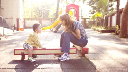 New report stressing impact of quality time with children should ease parental guilt.
