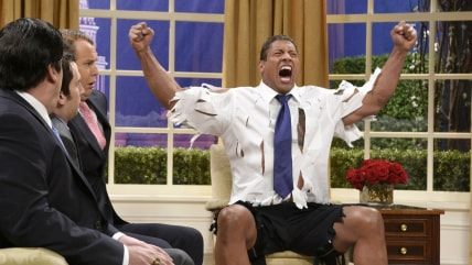 Image: Dwayne Johnson is ... The Rock Obama.