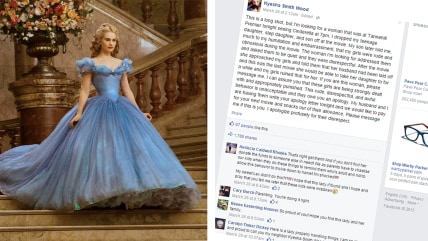 Mom apologizes for daughter's movie behavior