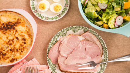 Make-Ahead Easter Dinner: Ham, Deviled Eggs, Salad and Lemon Tart