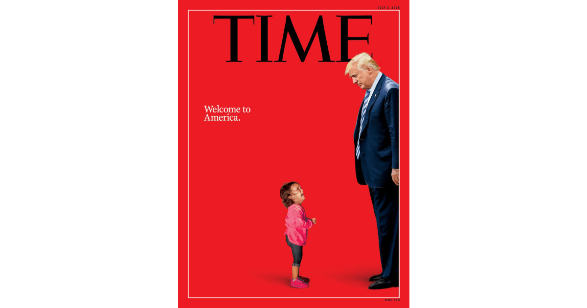 time magazine puts family separation at trump 39 s feet literally nbc news. Black Bedroom Furniture Sets. Home Design Ideas