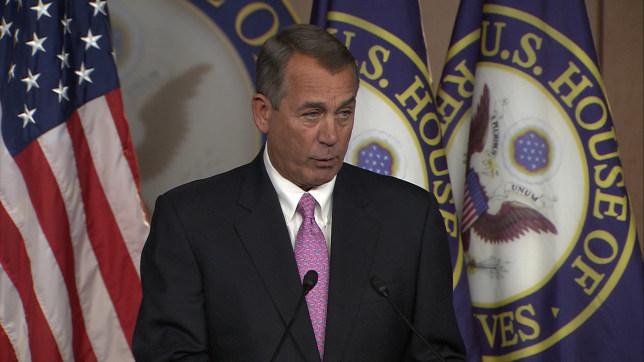 Speaker of the House, John Boehner - Magazine cover