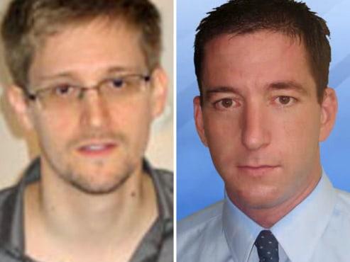 Edward Snowden - Magazine cover