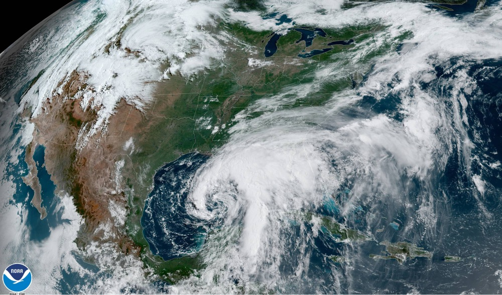 Tropical Storm Cristobal Advances Toward Gulf Coast With Heavy Rains, Flooding, and Mudslides