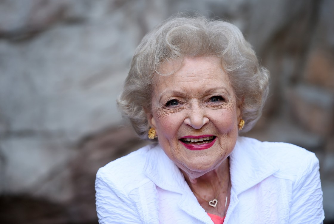 Betty White must be protected at all costs.Amanda Edwards / WireImage
