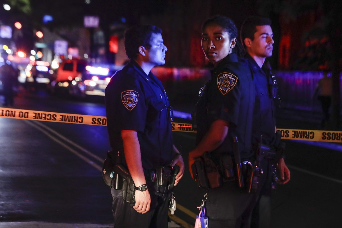 NYPD officers attacked; terror link probed