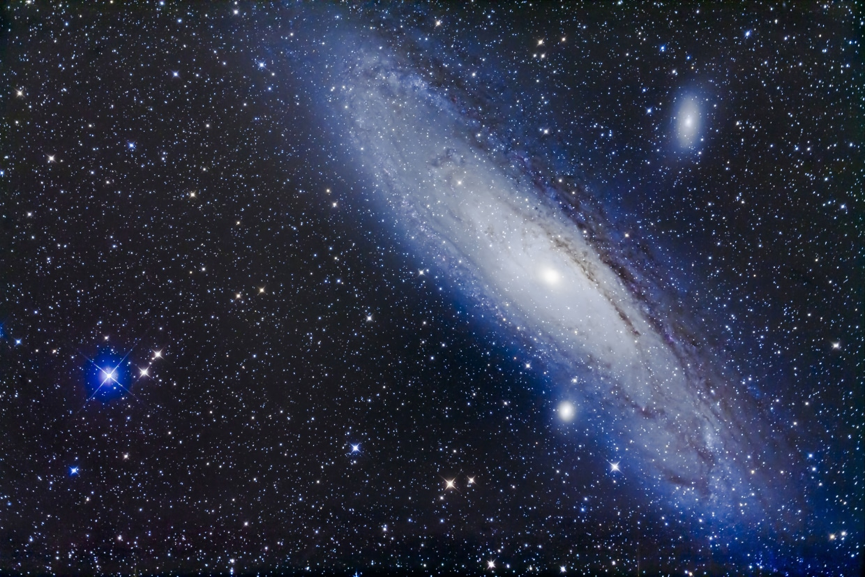 The Andromeda Galaxy by Alan Dyer