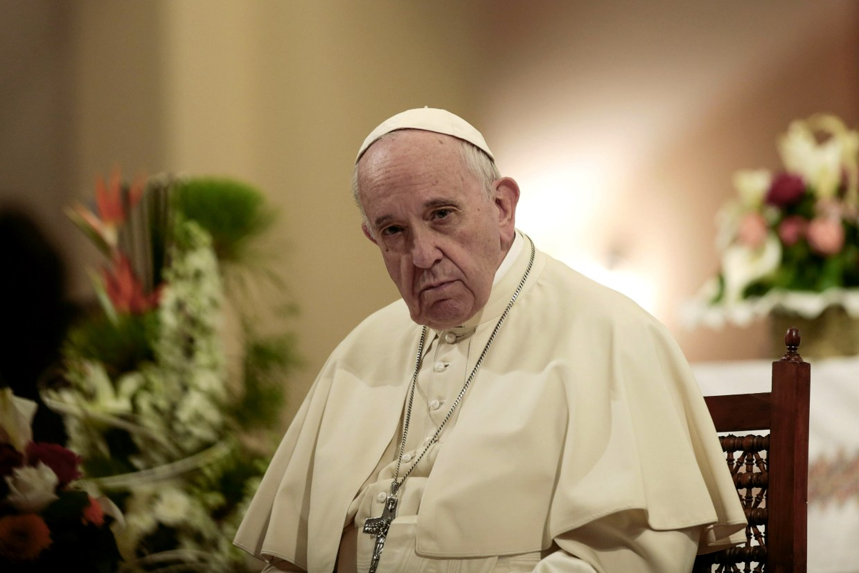 Pope Francis issues new law about sexual abuse