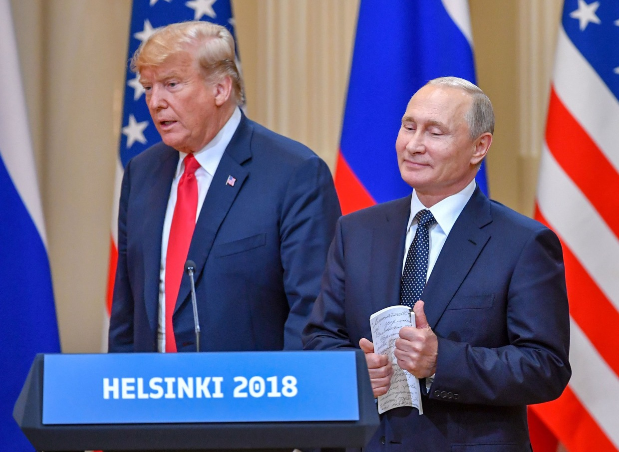 Trump Eyes Putin Meeting Before November Election Say Four People Familiar With Discussions