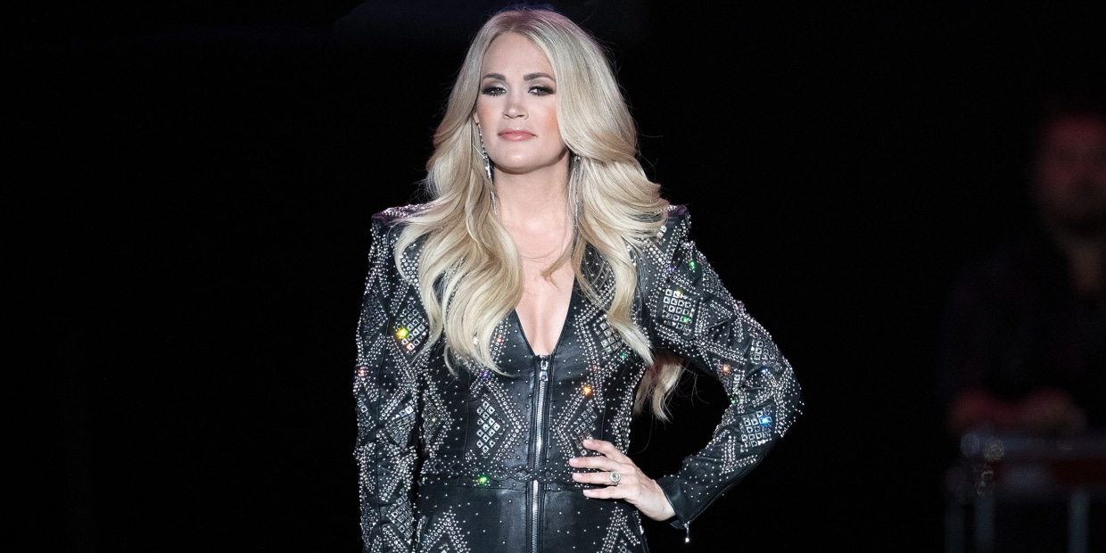 Carrie Underwood Gushes About Life On Tour With Her Family