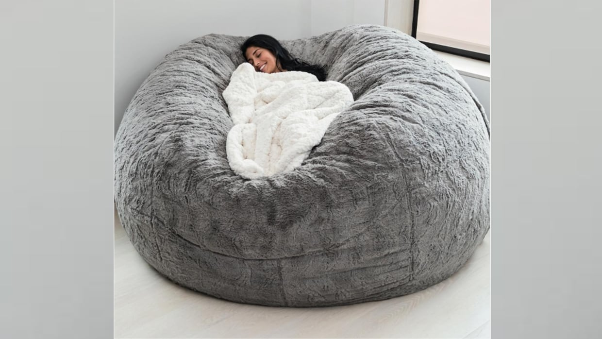 Picture of: The Lovesac Pillow And Other Comfy Chairs To Try This Winter