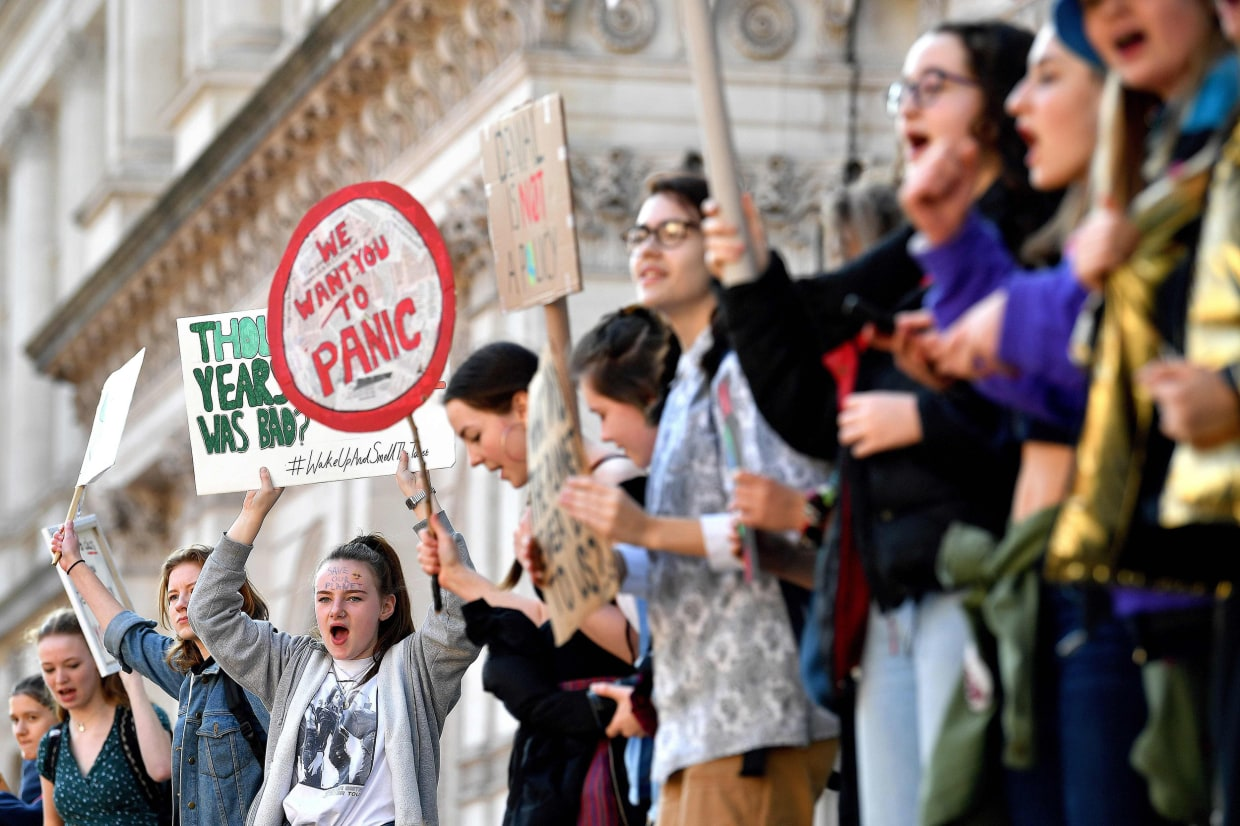 Young female climate activists face hateful abuse online. This is ...