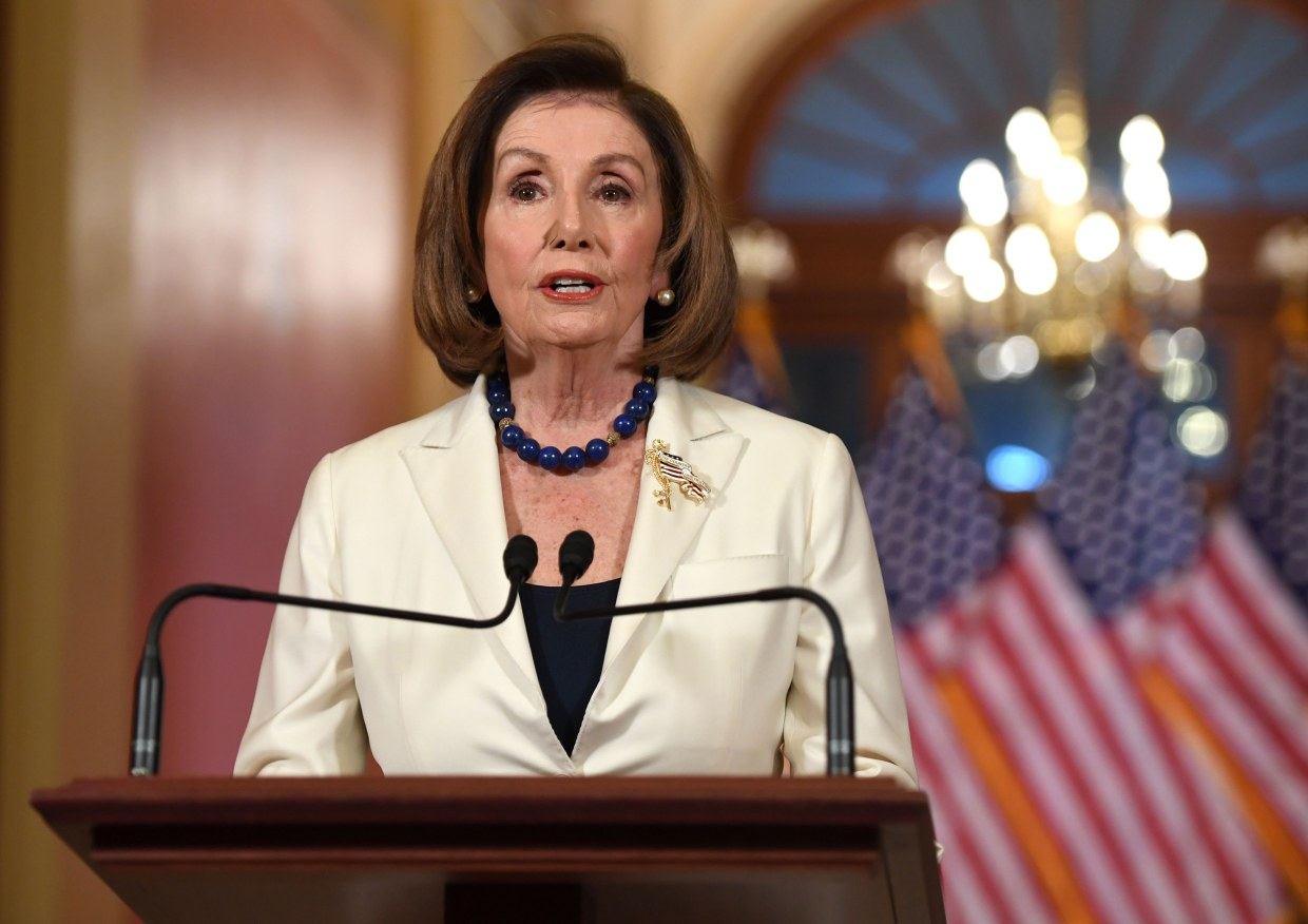 Nancy Pelosi anounces articles of impeachment