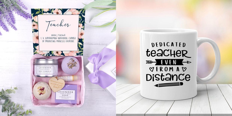 Teacher Stuff Tote Gift Bag School Present End Child Year