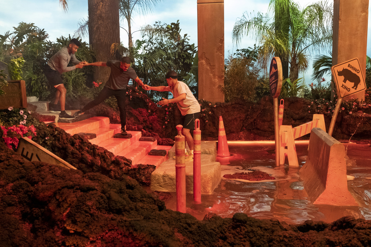Floor is Lava' on Netflix is an absurd summer obstacle course. And ...