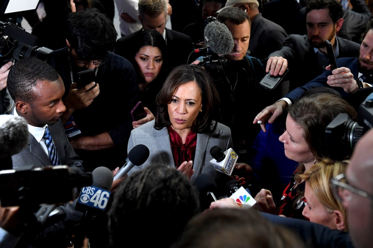 Trump Deploys The Angry Black Woman Trope Against Kamala Harris
