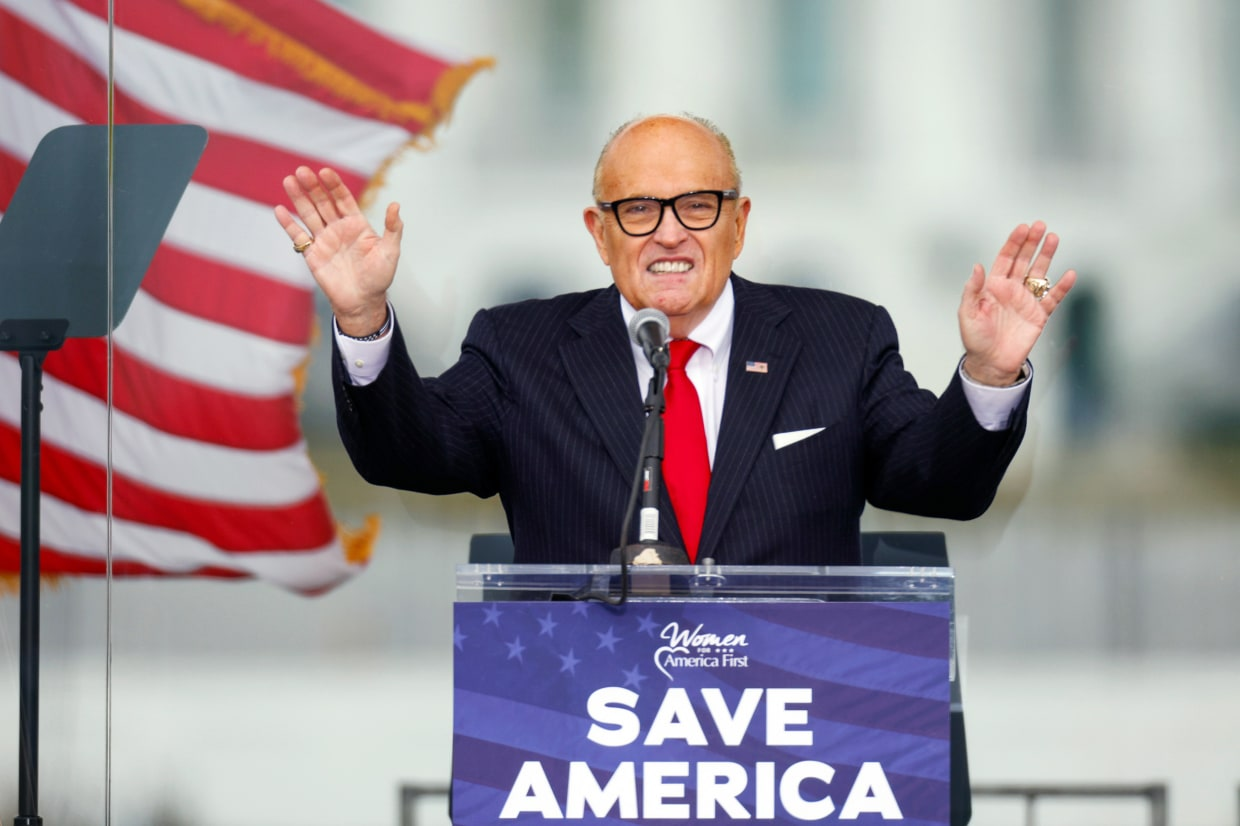 Guiliani may be disbarred