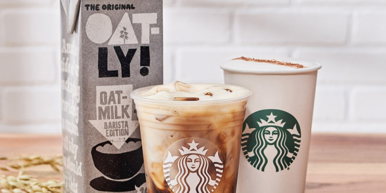Starbucks Unveils Its Spring Menu And Releases Oat Milk Today