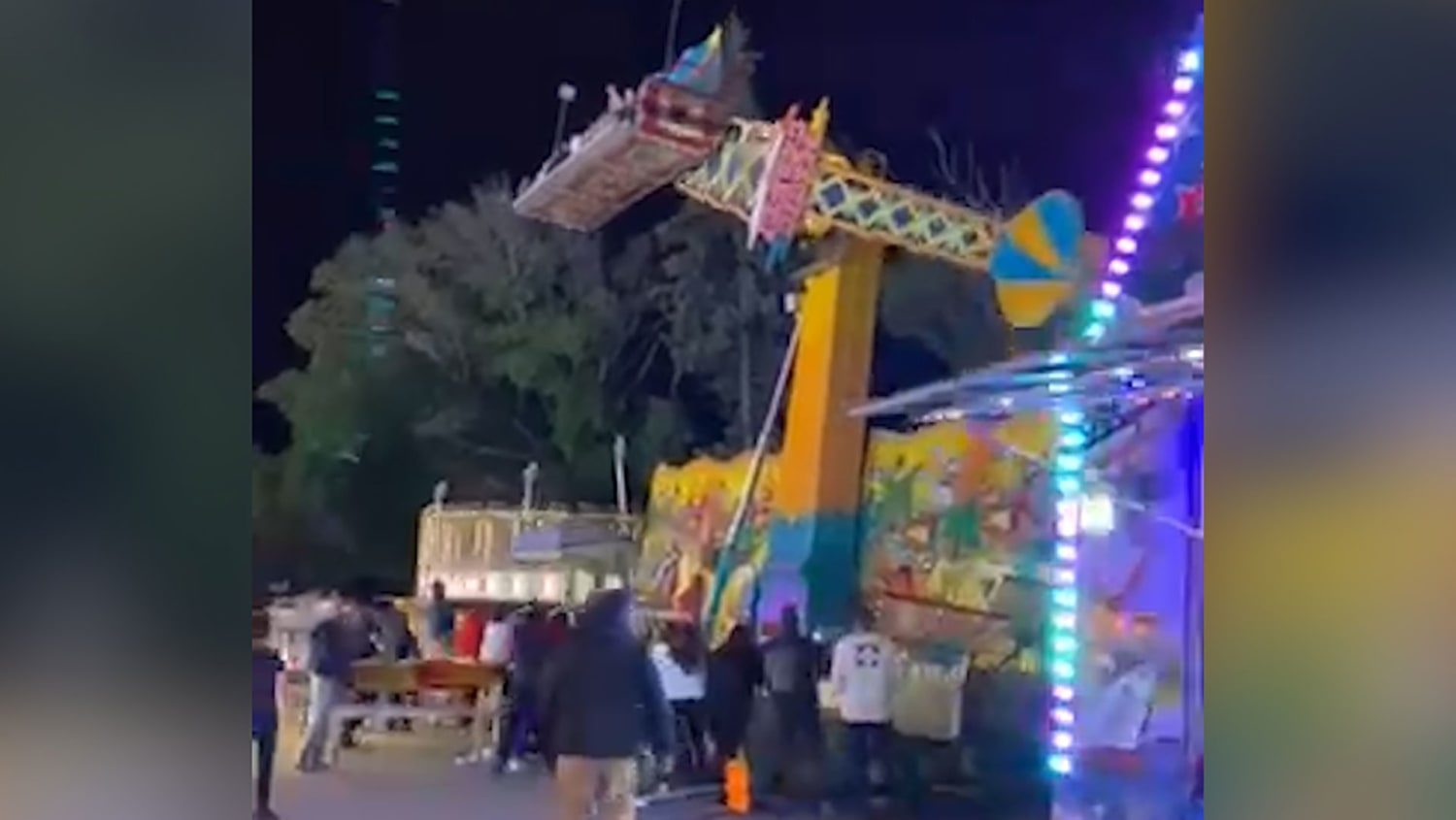 Thrill Ride Dismantled After Malfunctioning During Popular Michigan Festival