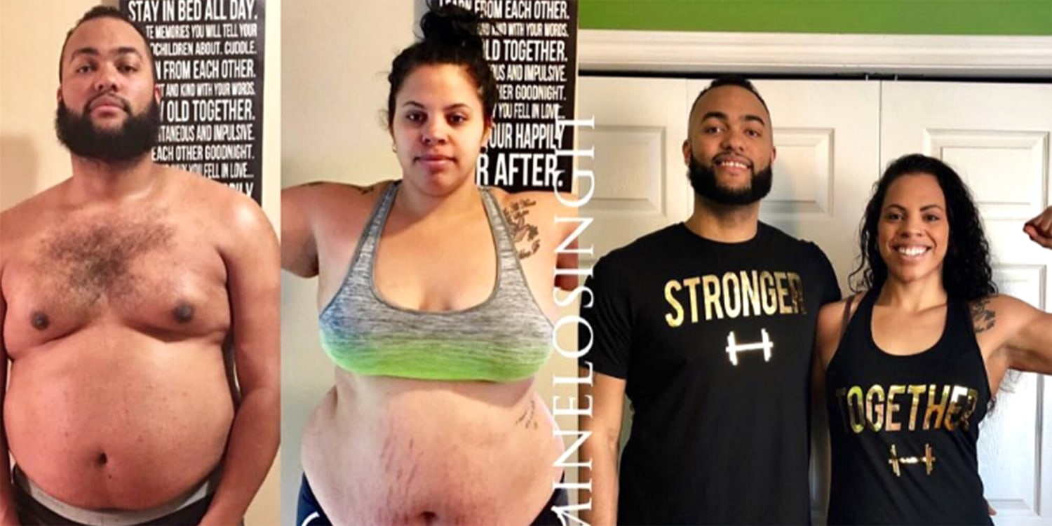 How to lose weight Couple loses 20 pounds with diet and exercise