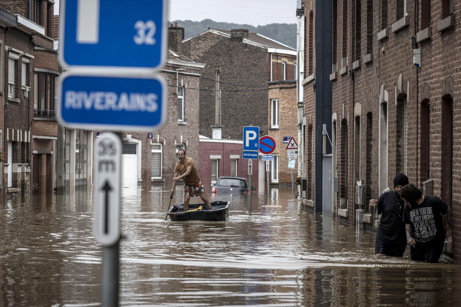 Over 150 Dead, More Than 1,000 People Missing After Raging Floods Hit Western Europe