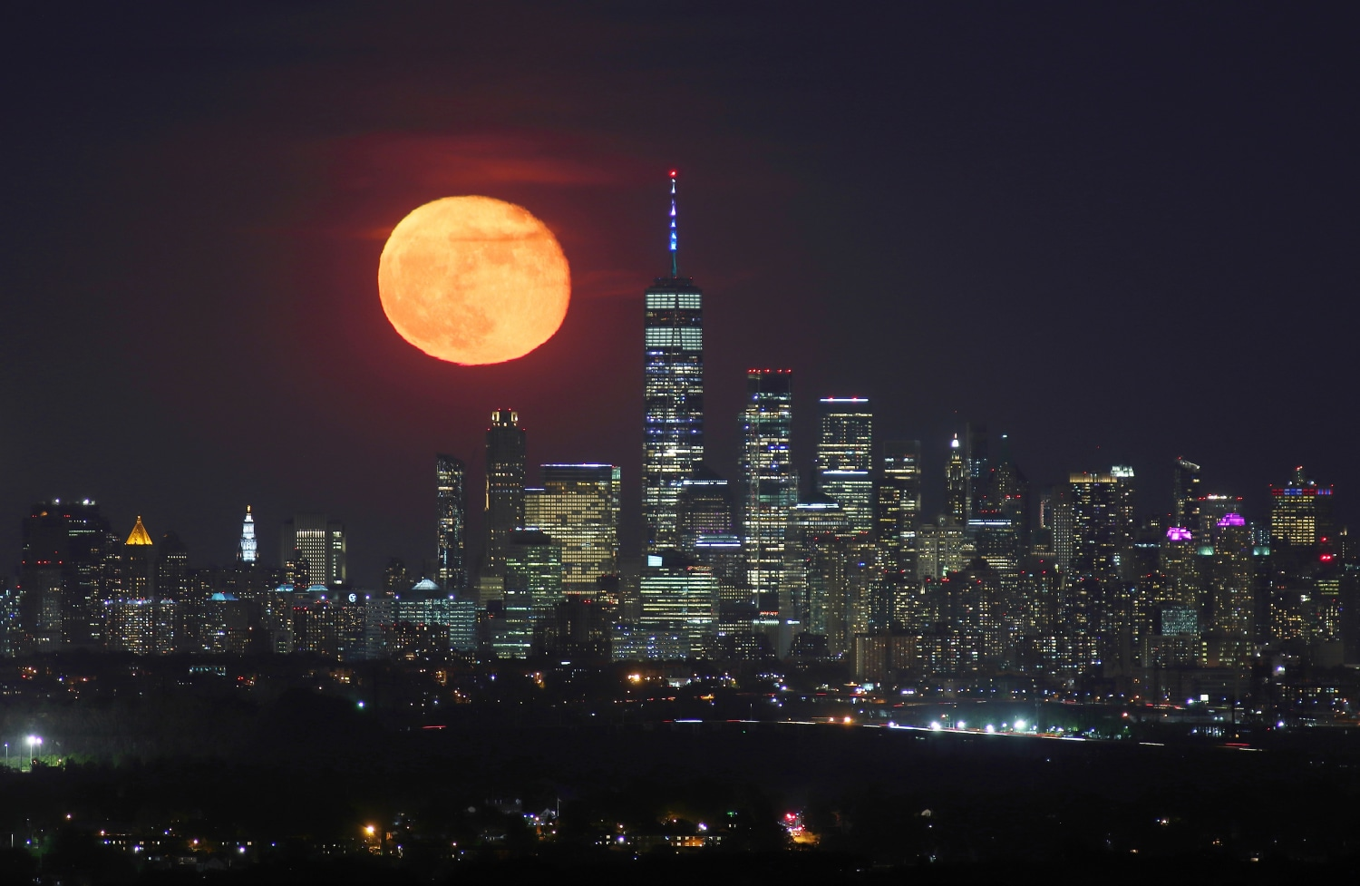 How to see this week's 'strawberry moon,' the last supermoon of 2021