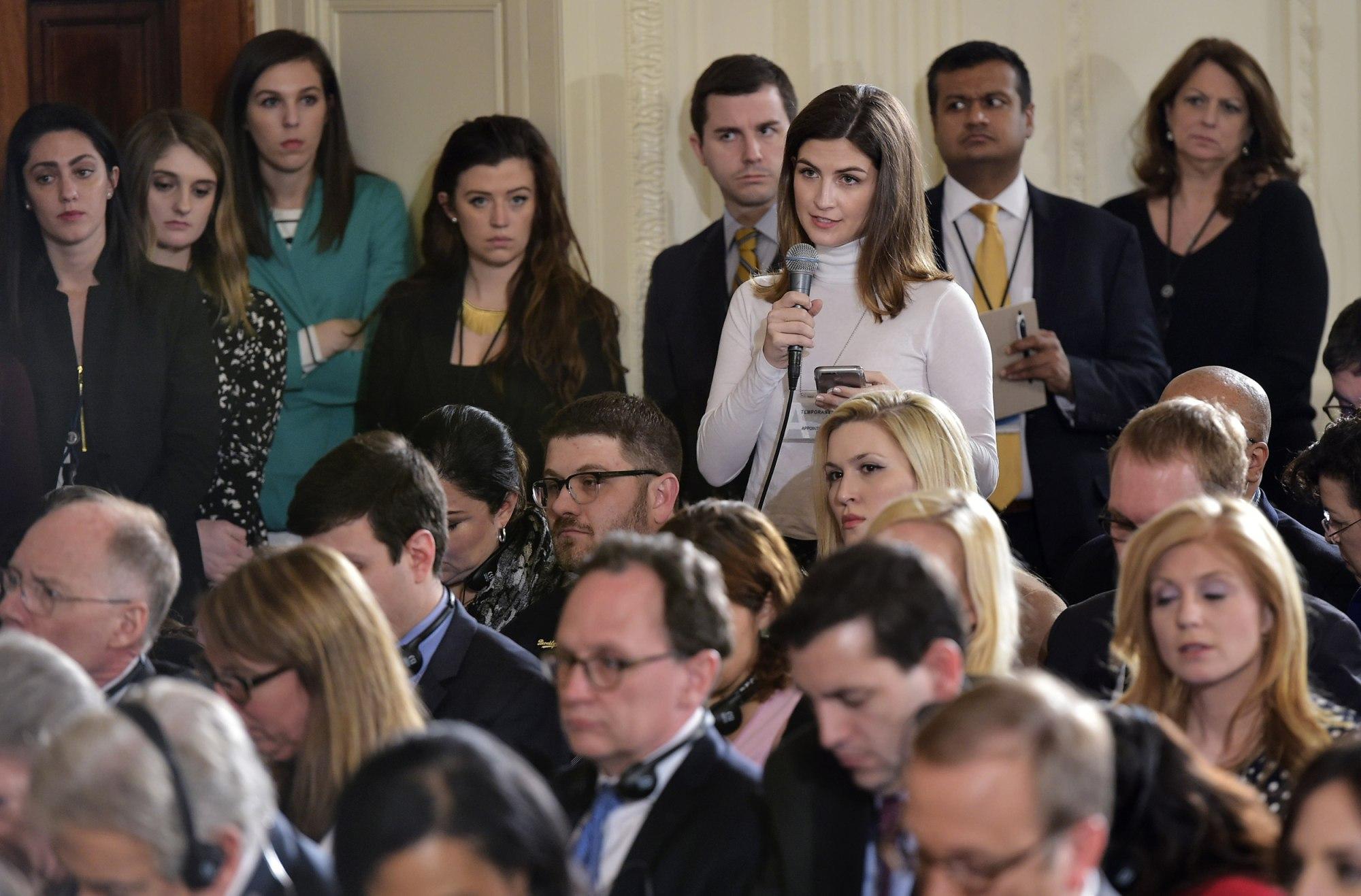 White House correspondent Kaitlan Collins
