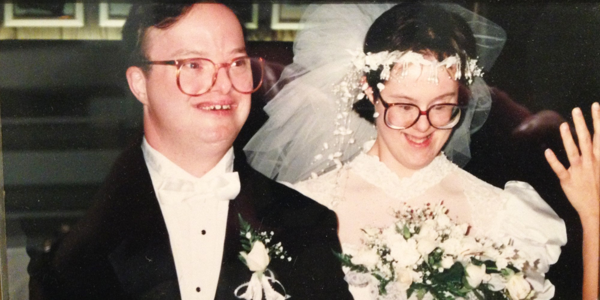 Paul Scharoun-DeForge and his wife Kris had the longest Down's syndrome marriage.