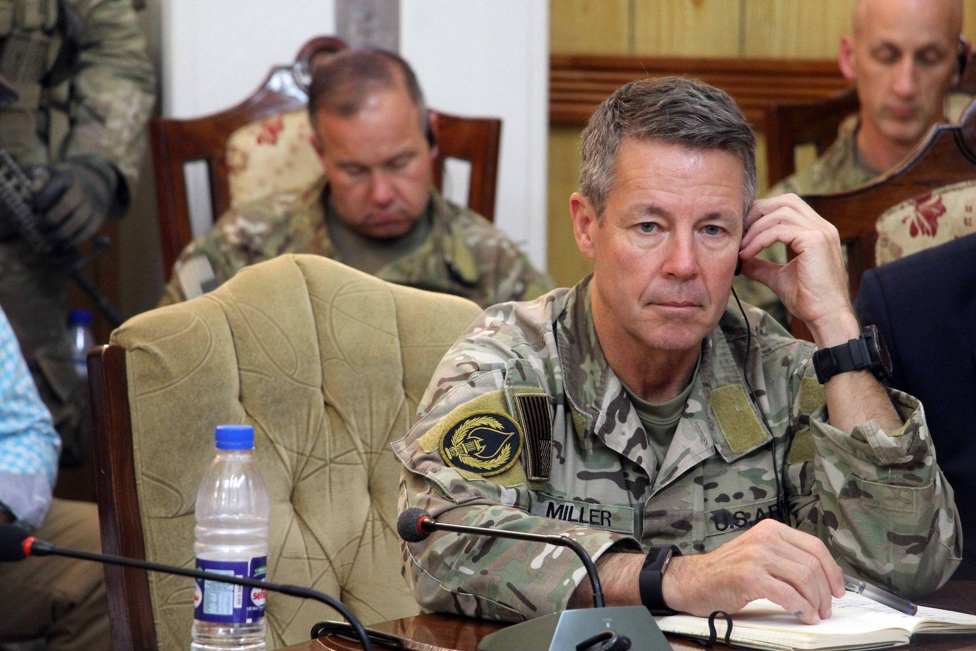 جنرال مېلر: افغانستان کې د سیاسي حل وخت رارسېدلی