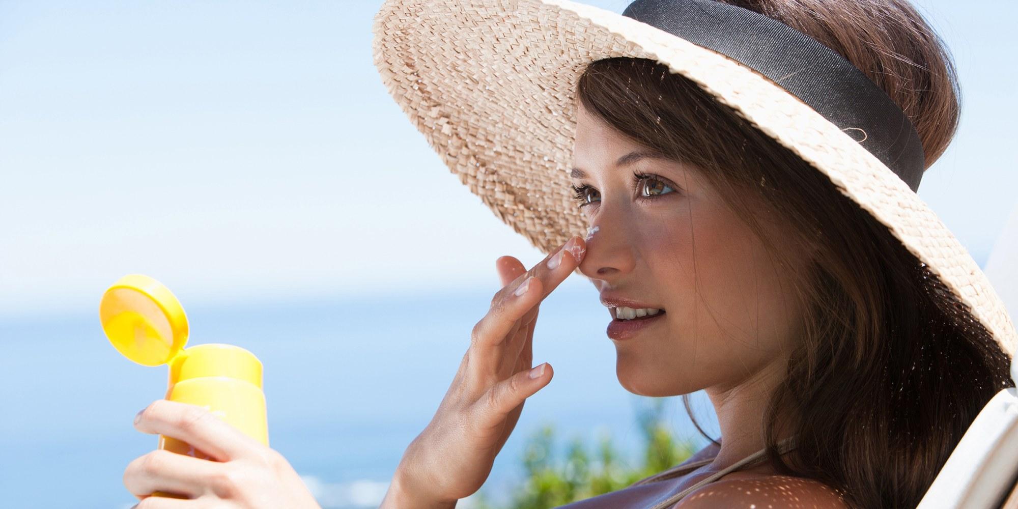 Don't skip eyelids when applying sunscreen