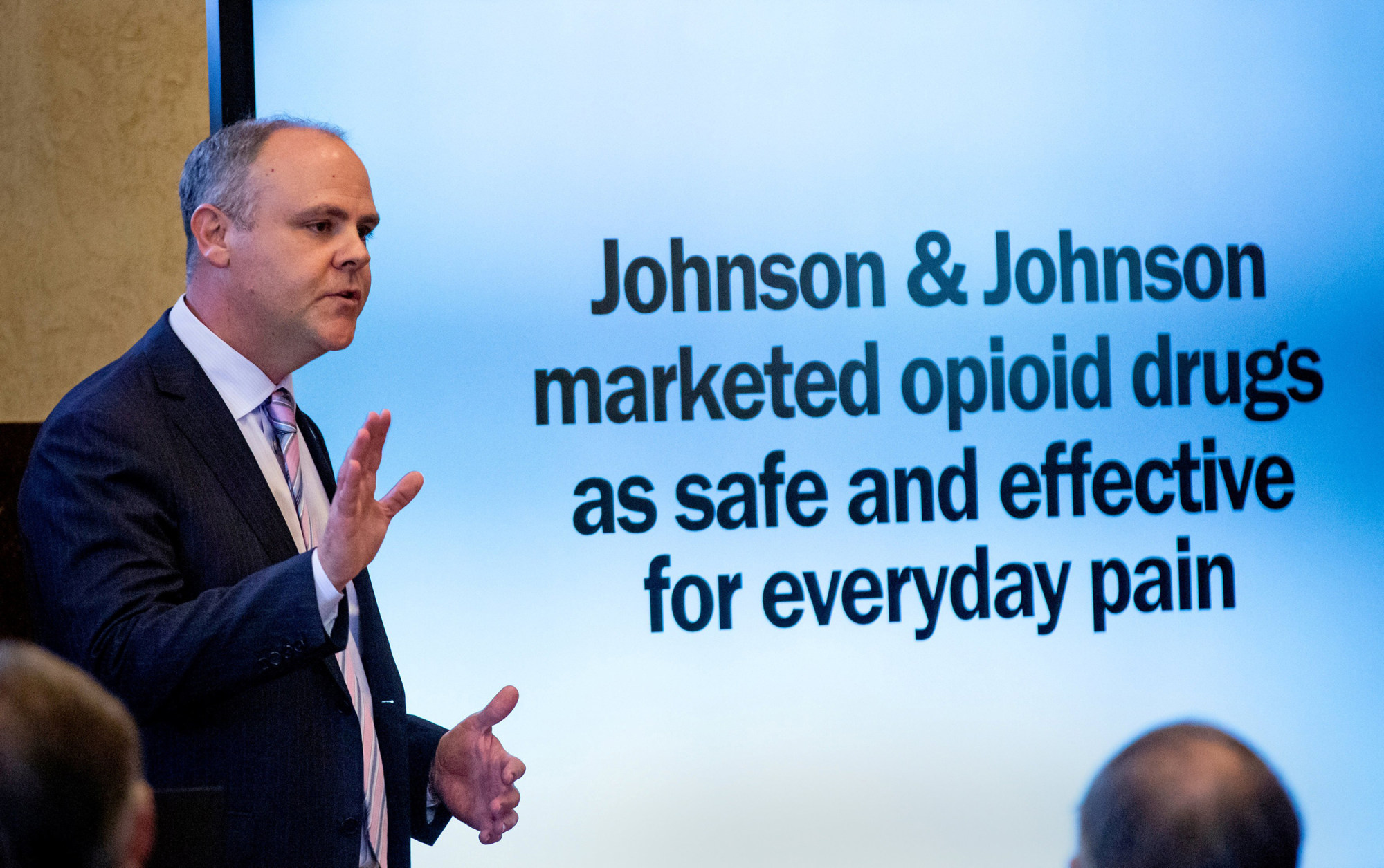 OK claims J&J's greed helped fuel opioid crisis