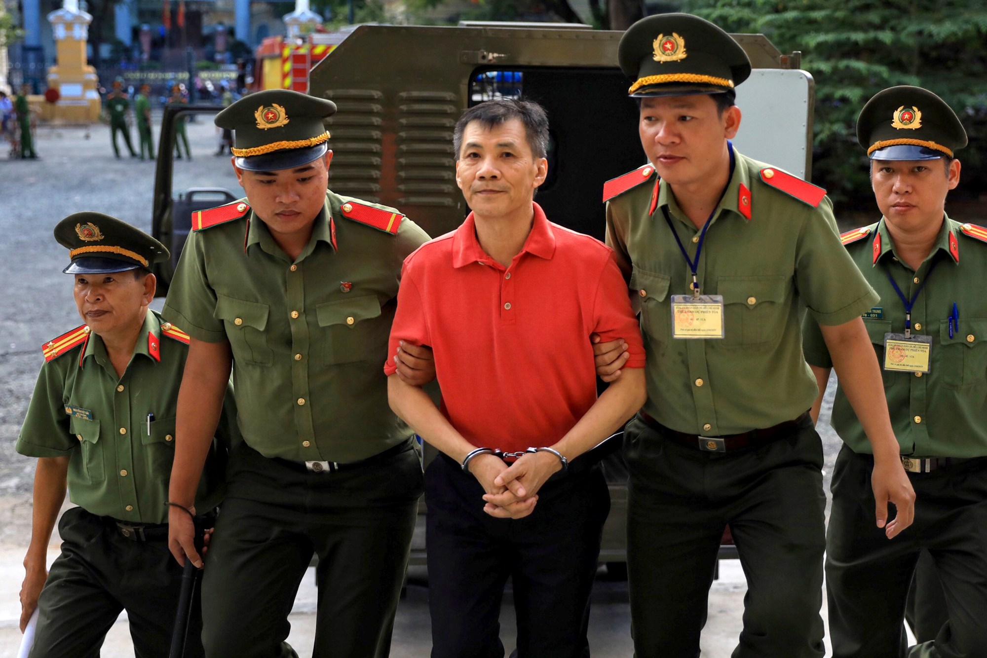 American in Vietnam sentenced to 12 years for attempting to overthrow state