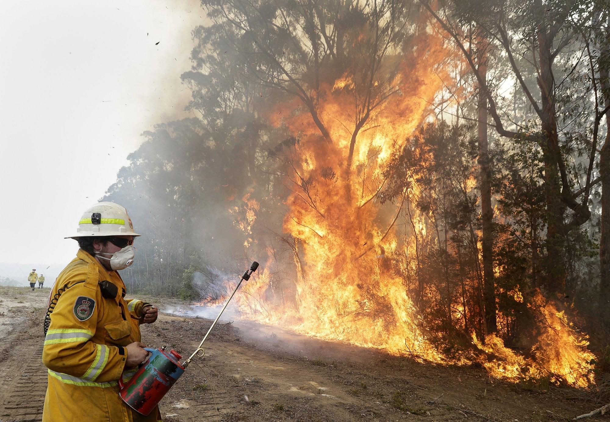 Australia's wildfire crisis faces a new foe: Misinformation